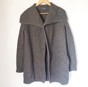 Vince. | Chunky Knit Yak Wool Blend Cardigan